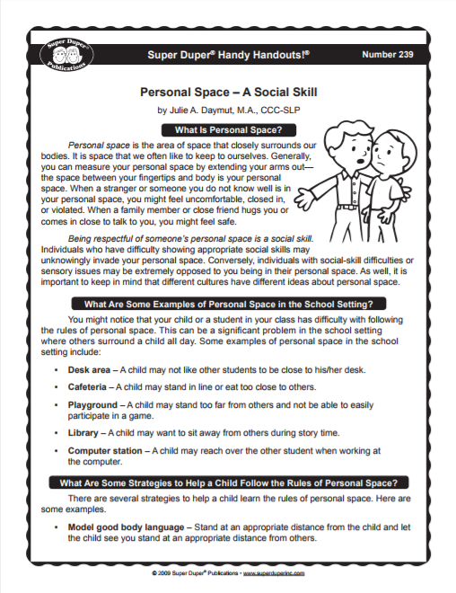 Personal Space Invader Printables PsychCreatives – Setting Personal Boundaries Worksheet